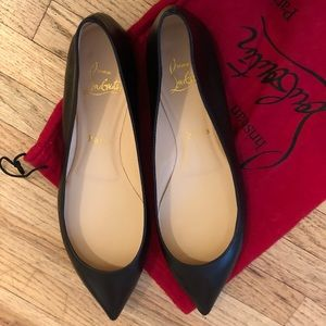 Christian Louboutin Leather Flat shoes!
